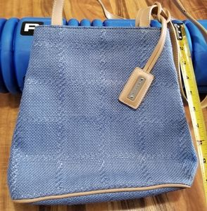 Nine west blue purse, excellent condition